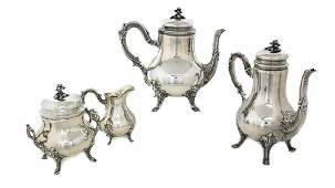 Emile Puiforcat Sterling Silver Tea & Coffee Service