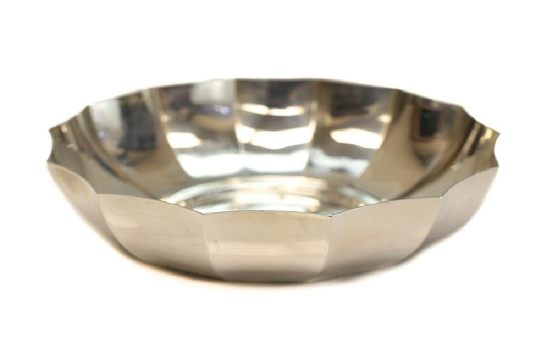 Tiffany Makers Sterling Silver Fluted Bowl c. 1900