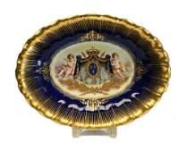 Sevres Porcelain Centerpiece Bowl 19th C