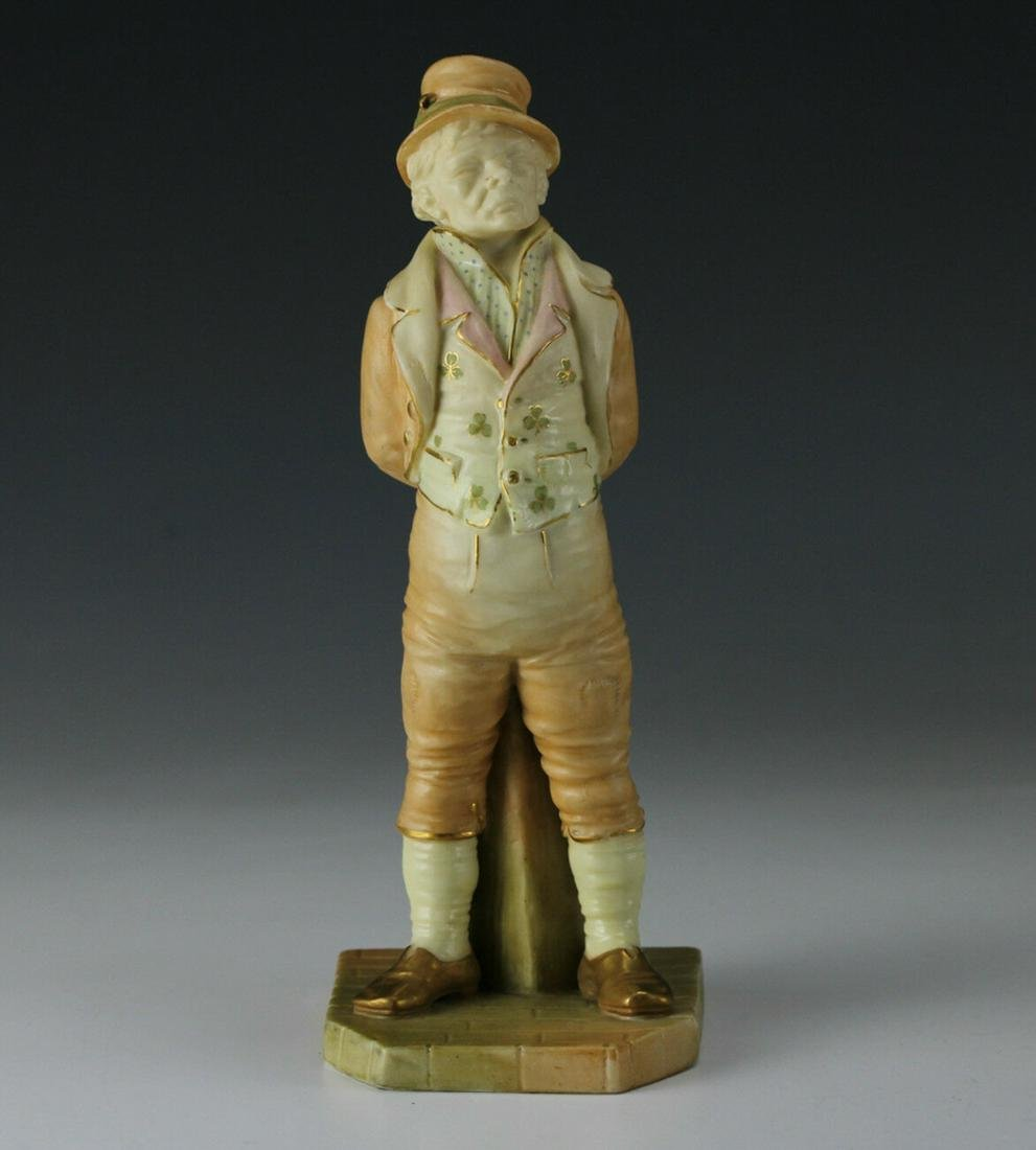 1895 English Royal Worcester Irish Man #31