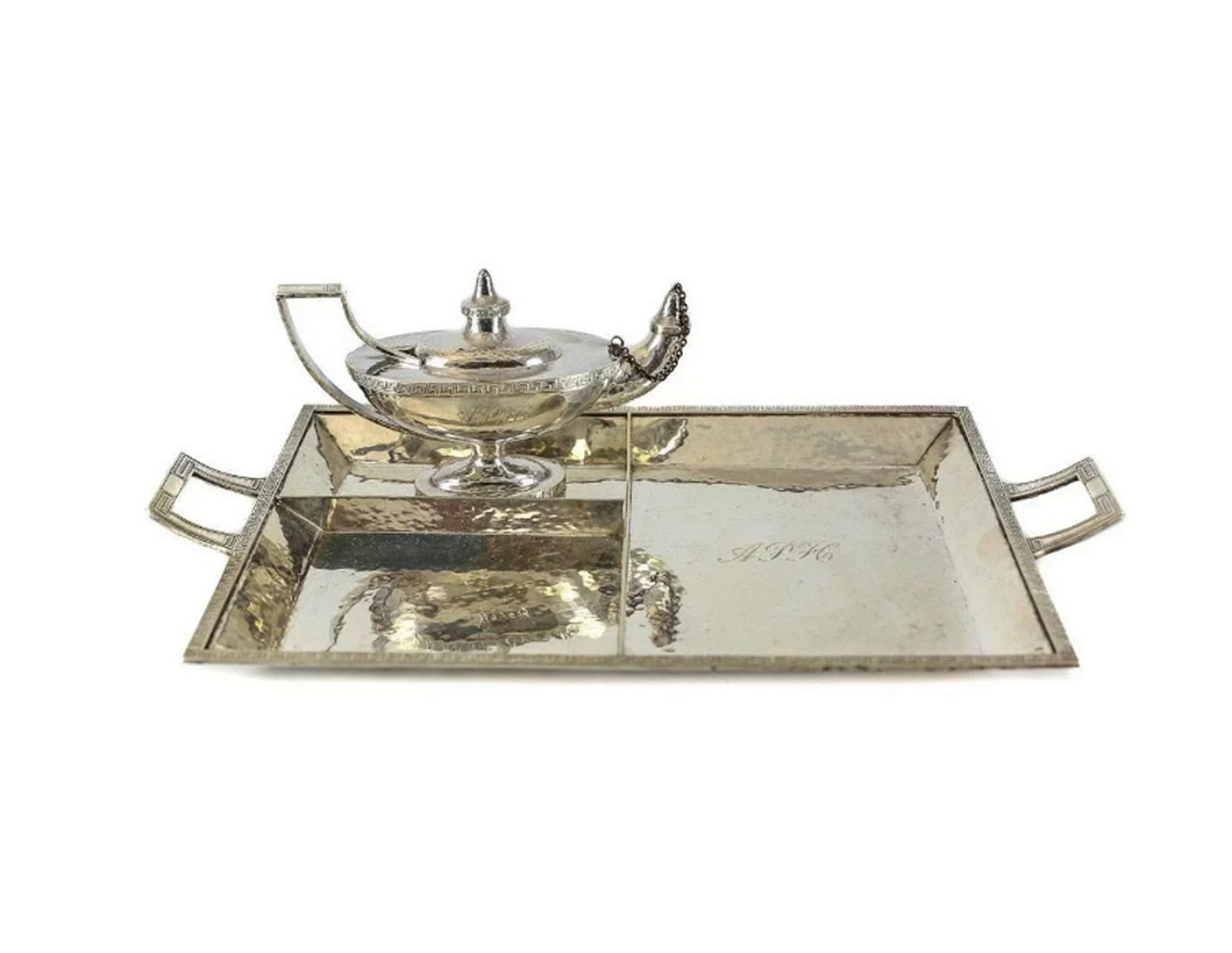 Marcus & Co. Sterling Silver Smoking Set