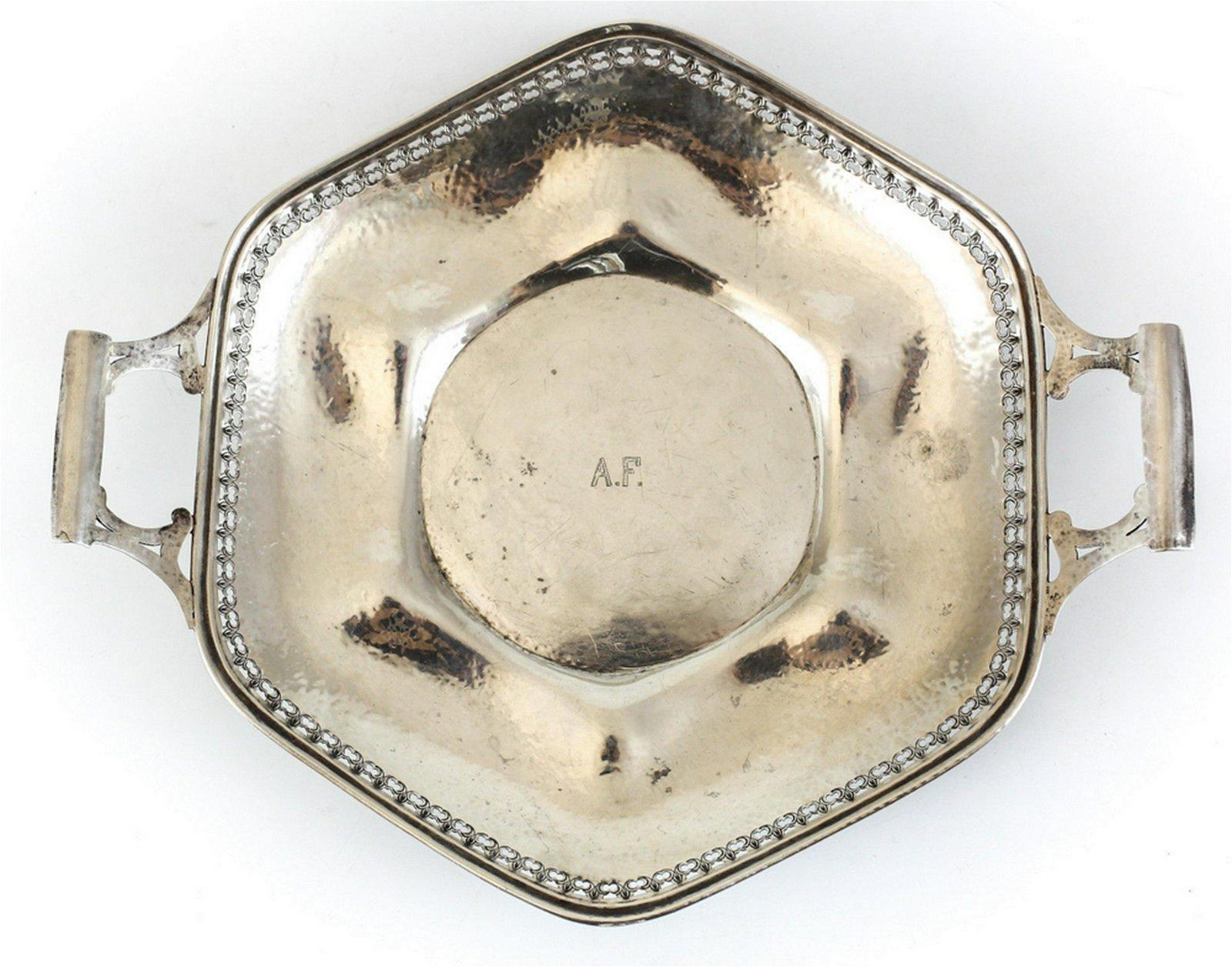 Watson Company Sterling Silver Tray Arts & Crafts