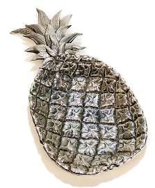 Bucellati Sterling Silver Pineapple Dish