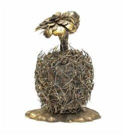 Janna Thomas De Velarde Tiffany Gilt Silver Figurine