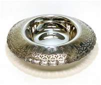 Tiffany Sterling Silver Centerpiece Bowl #17281