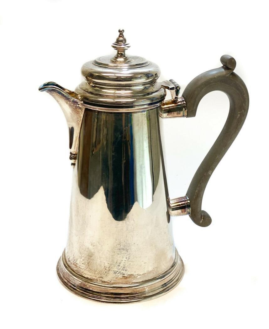 CJ Vander Sterling Silver Georgian Style Tea Coffee pot