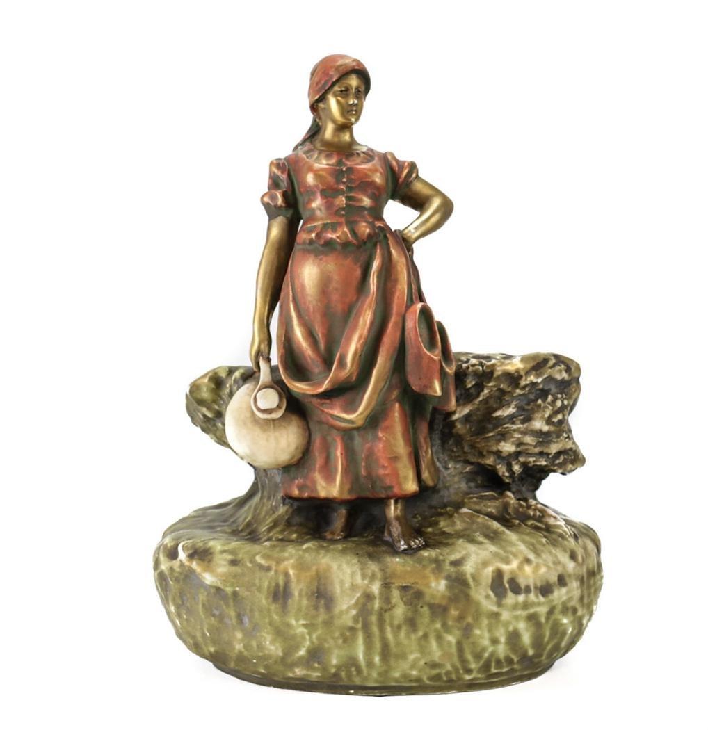 Imperial Amphora Turn Teplitz Austrian Vase