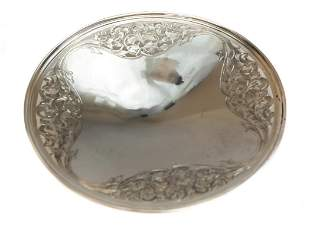 Sweetser Co Sterling Silver Round Plate