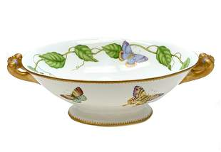 Anna Weatherley Hungary Porcelain Serving Bowl in Ivy