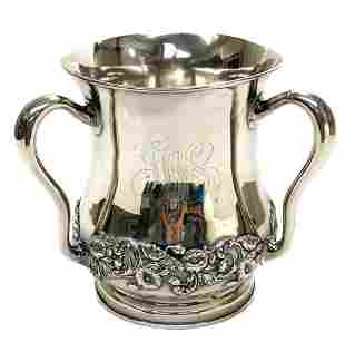Large Gorham Sterling Silver 6 Pint Loving Cup, #A1335