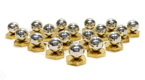 Bvlgari Sterling Silver Place Card Holders