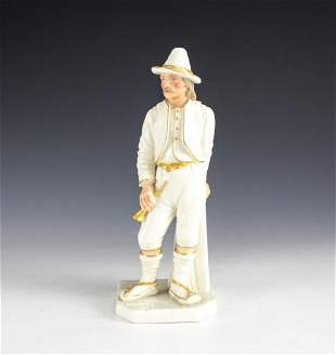 Royal Worcester by Hadley, The Yankee #897