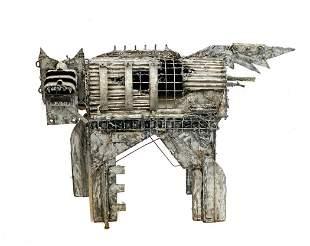 Nick De Angelis  Sculpture Abstract Dog