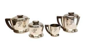 Jean Puiforcat Sterling Silver Coffee & Tea Set