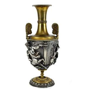 John Grinsell & Son Neo-Classical Silverplate Urn