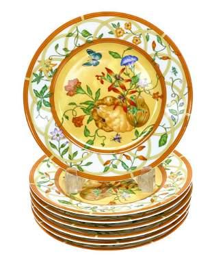 7 Hermes Salad Plates in La Siesta