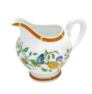 Hermes Paris Porcelain Creamer in La Siesta