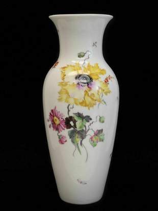 Royal Berlin KPM Large Hand Painted Porcelain Vase