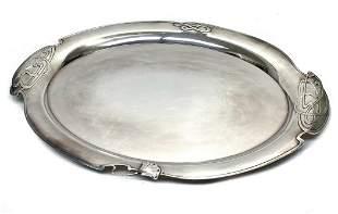 Buccellati Italian 925 Sterling Silver Oval Tray