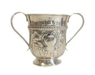 Thomas Wallis I George III Sterling Silver Trophy Cup