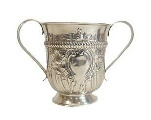 Thomas Wallis I George III Sterling Silver Trophy Cup