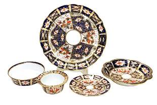 Royal Crown Derby Mixed Serving Pieces in Traditional