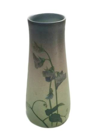 Rookwood Vellum Pottery Vase by Sallie Coyne #950D