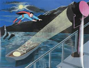 Animation Cel, Superman c1966