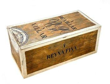 Silver & Enamel Trompe L'oeil Cigar Box, 1878