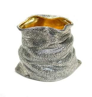 Buccellati Sterling Silver Trompe L'oeil Flour Sack