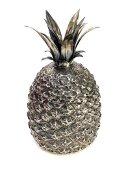 Italian Silver Pineapple Ice Bucket