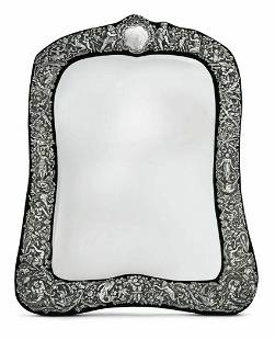 Sterling Silver Mirror Table by William Comyns 1890