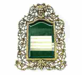 Continental Silverplate Bacchus Wall Hanging Photo Fram