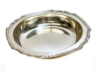 Tiffany & Co. Sterling Silver Square Edge Bowl #785