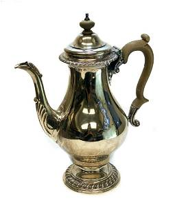 Cohen & Charles Sterling Silver Tea Coffee Pot, 1960