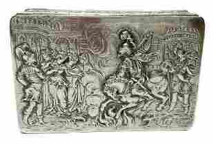 German Hanau Silver English John George Smith London