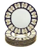 8 Royal Doulton England Porcelain Dinner Plates