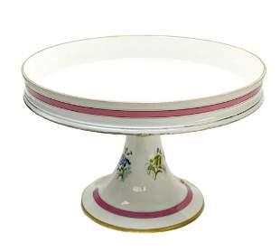 Manufacture de Sevres Porcelain Napoleonic Compote