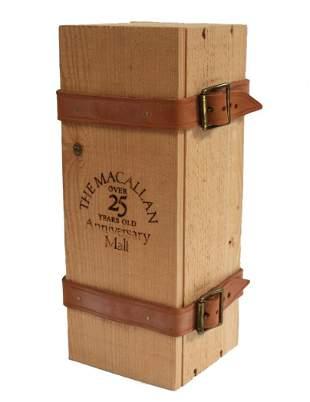 Macallan 25 Year Old Anniversary Malt Scotch Whiskey