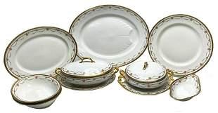 10 pc Bernardaud Limoges Porcelain Serving Set with