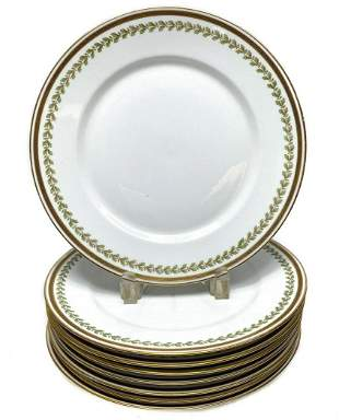 8 William Guérin Limoges Dinner Plates