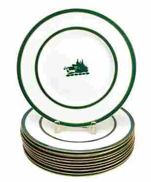 Wedgwood England Porcelain Dinner Plates, circa 1900
