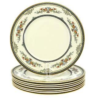 8 Minton Porcelain Dinner Plates in Stanwood