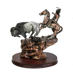 "Chris Pardell Bronze ""Cliff Suspension"" Ltd. 2500"