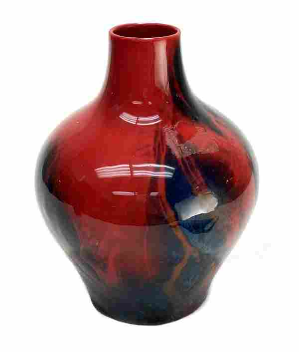 Royal Doulton Sung Ware Flambe Vase by Fred Moore