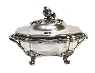 Puiforcat French Silver Soup Tureen