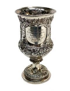 Richards & Brown London Sterling Silver Wine Goblet