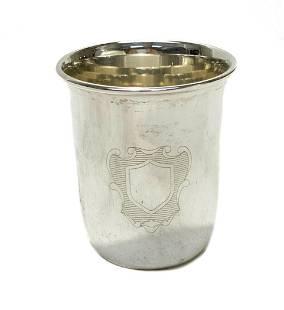 Buccellati Sterling Silver Jigger or Beaker Cup