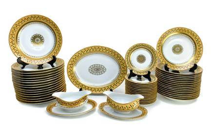 Tiffany Le Tallec Private Stock Dinner Set in Directoir