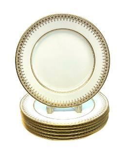 6 Copeland Spode England Porcelain Dinner Plates